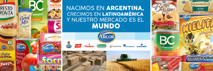 Arcor: desarrollo de mensajes para una gran marca argentina.