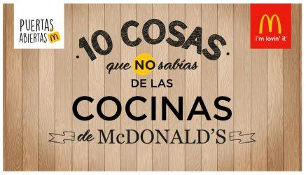 Mensajes animados para los locales de McDonald's.