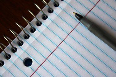 Volver al lápiz y al papel