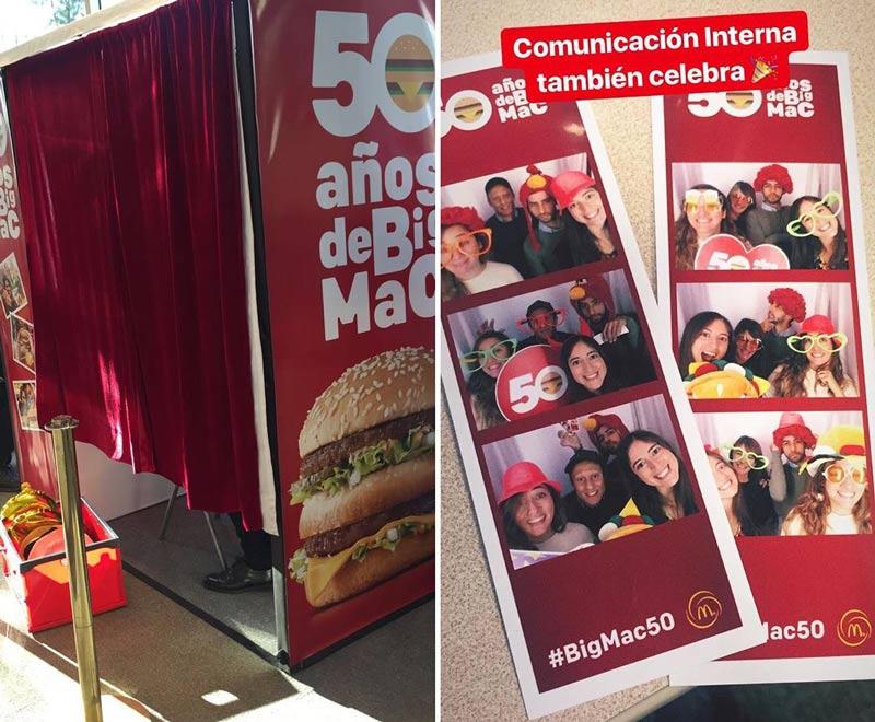 fotitos bigmac 50 - 50 Años Incomparables