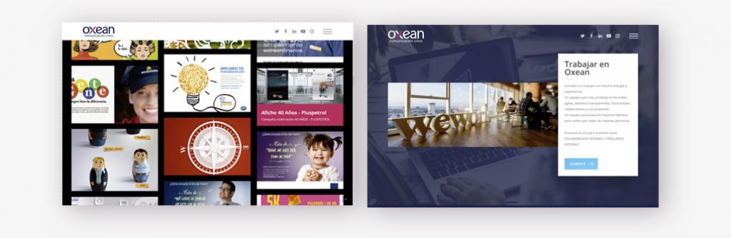 2 paginas oxean 1024x334 - Nuevo website Grupo Oxean