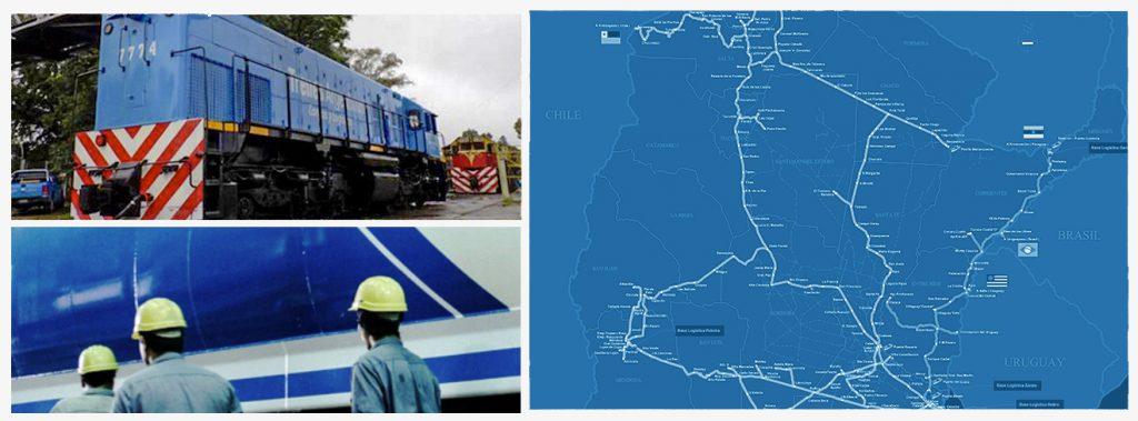 ttrenes argentinos oxean 33 1024x379 - Trenes Argentinos Cargas: acciones para acortar distancias