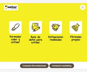 Weber: una aplicación web para brindar servicio