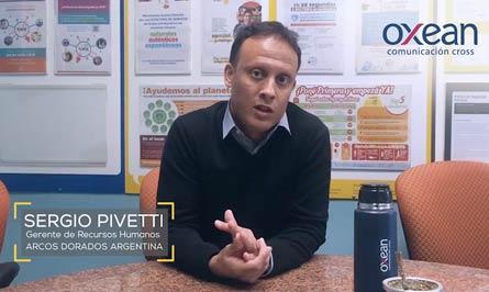 Sergio Pevetti , Gerente de Recursos Humanos de Arcos Dorados Argentina.