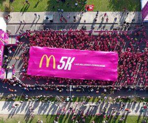 Una marea fucsia: organizamos la M5K de McDonald's