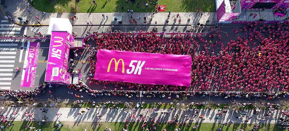 Grupo Oxeam - M5K de McDonald's