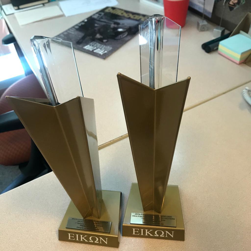 Premios Eikon x2 - Ganamos dos premios EIKON junto a un gran equipo