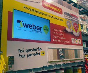 Weber en home centers: una acción para alcanzar al consumidor en el punto de venta