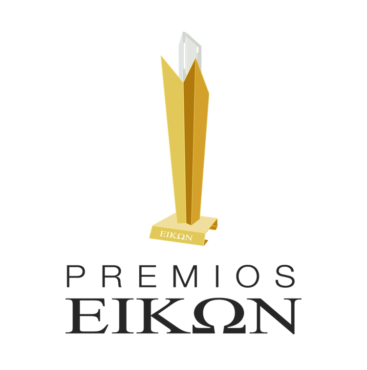 Logo Eikon Y TEXTOo 1 - ¡Multipremiados! 5 reconocimientos en los Eikon