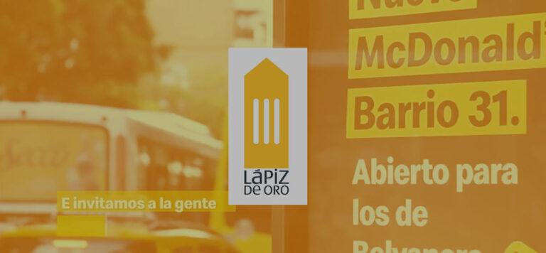 fondo lapiz 768x356 - Ganamos un Lápiz de Oro junto a McDonald's: ¡conoce el caso ganador!